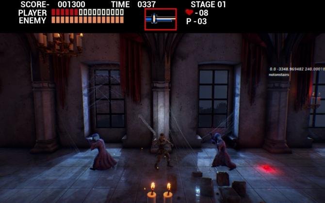 Powstaje remake Castlevanii na Unreal Engine 4 [1]