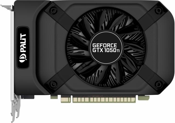 Palit prezentuej karty GeForce GTX 1050 oraz 1050 Ti StormX [1]