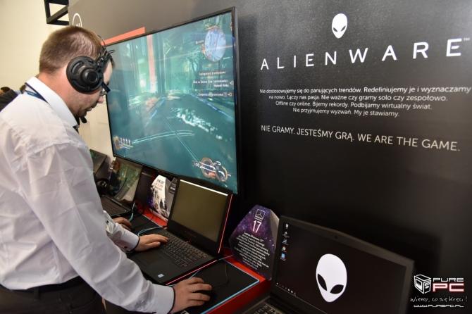 Dell Alienware na Poznań Game Arena - prezentacja stoiska [6]