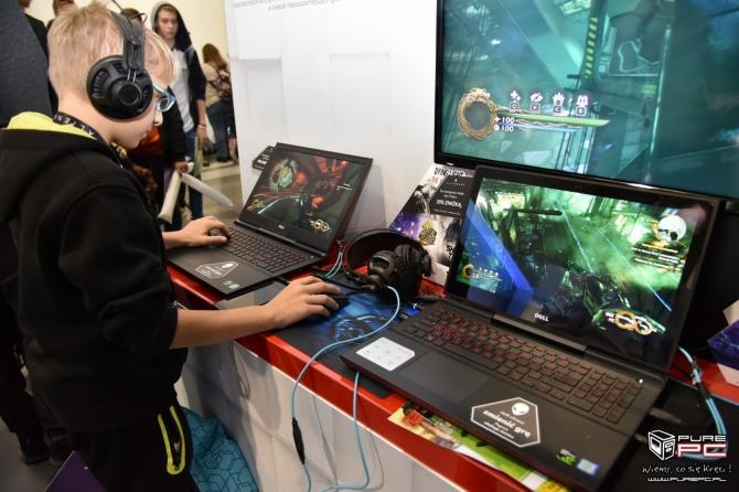 Dell Alienware na Poznań Game Arena - prezentacja stoiska [7]