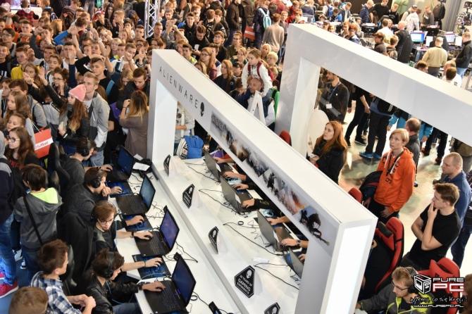 Dell Alienware na Poznań Game Arena - prezentacja stoiska [8]