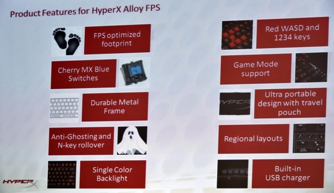 HyperX Alloy FPS - nowa klawiatura mechaniczna dla graczy [4]