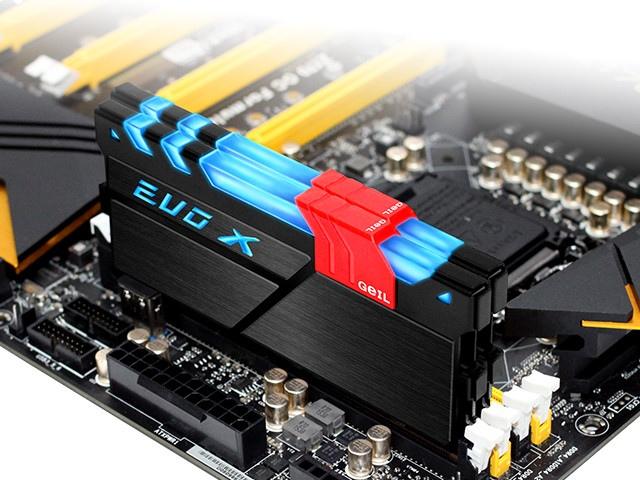 GeIL EVO X - pamięci DDR4 z podświetleniem RGB [1]