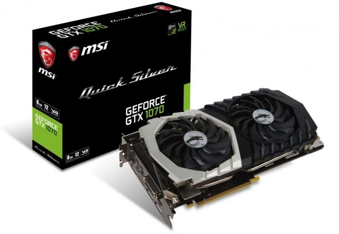 MSI GeForce GTX 1070 Quick Silver OC - nowy, wydajny Pascal [2]