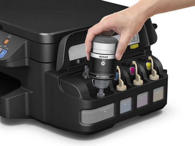 EPSON L605 i L1455 - nowe drukarki z systemem ITS [2]