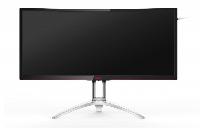 AOC AGON AG3552QCX - ultrapanoramiczny monitor 240 Hz [1]