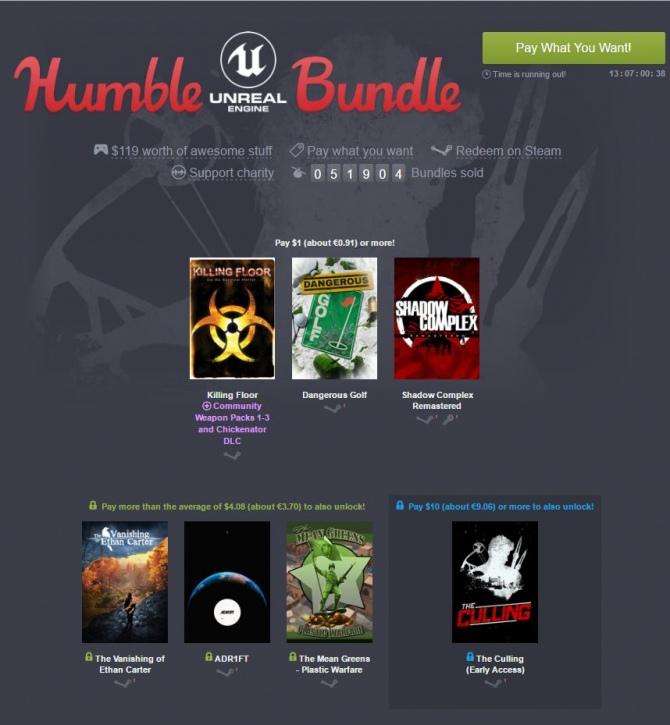 Humble Unreal Engine Bundle - świetne gry za grosze [1]