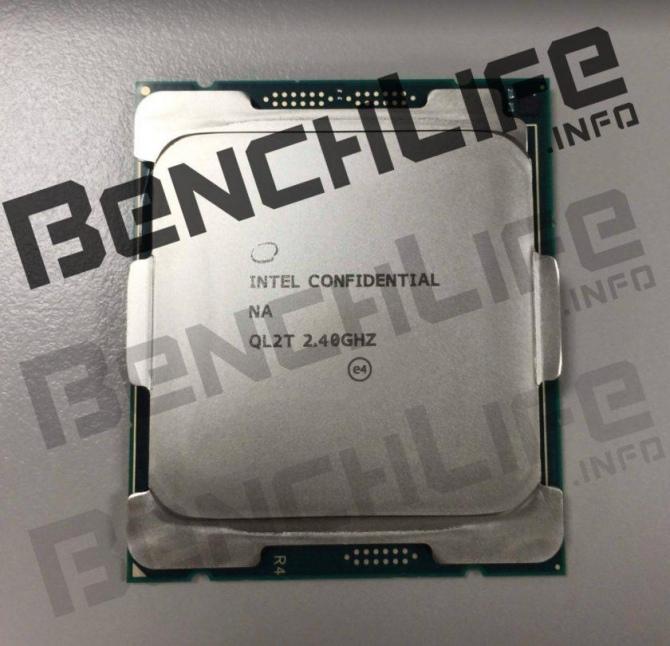 Intel Skylake-X - uchwycono na zdjęciach próbkę inżynieryjną [1]