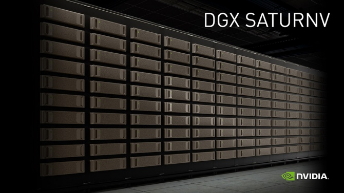 NVIDIA DGX SATURNV - wyjątkowo energooszczędny superkomputer [1]