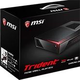 MSI prezentuje nowy kompaktowy komputer o nazwie Trident
