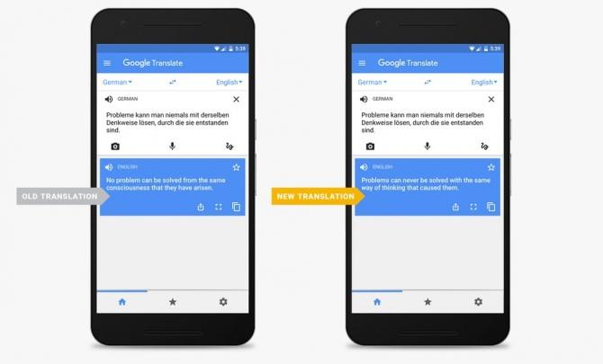 Tłumacz Google z technologią Neural Machine Translation [1]