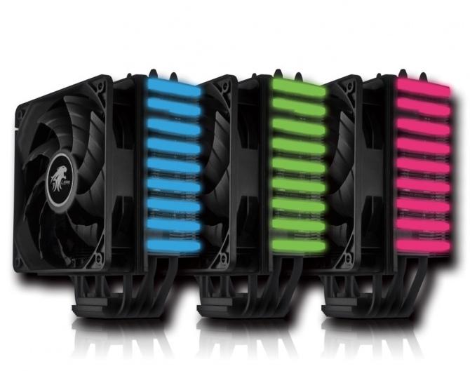 LEPA NEOllusion - cooler CPU z ciekawym podświetleniem RGB [5]