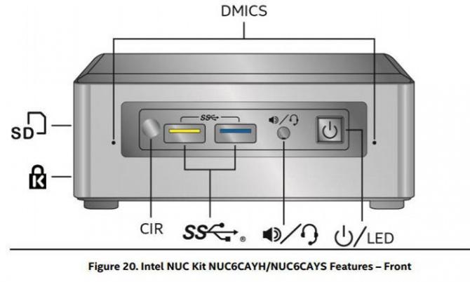 Minikomputery Intel NUC oparte na procesorach Apollo Lake [1]
