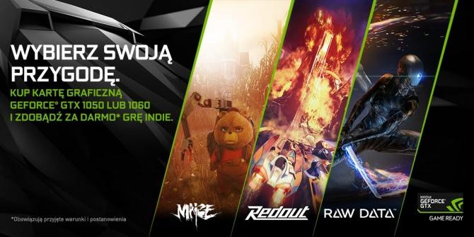 Trzy gry niezależne za darmo z kartami graficznymi NVIDIA [1]