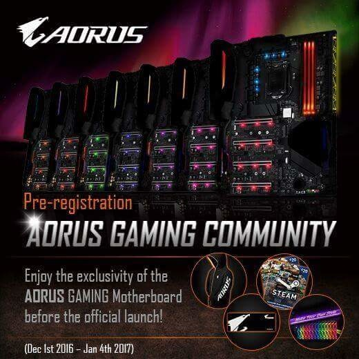Gigabyte zapowiada płyty główne z serii Aorus dla graczy [1]