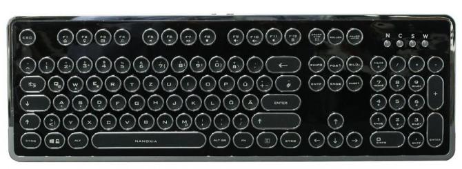 Nanoxia Ncore Retro - steampunkowa klawiatura mechaniczna [3]
