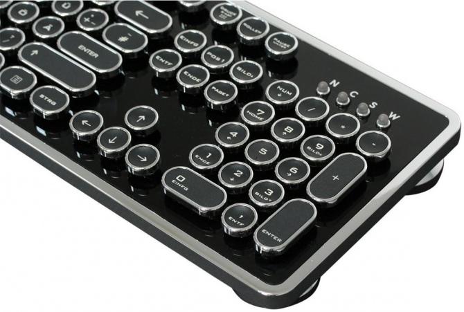 Nanoxia Ncore Retro - steampunkowa klawiatura mechaniczna [4]