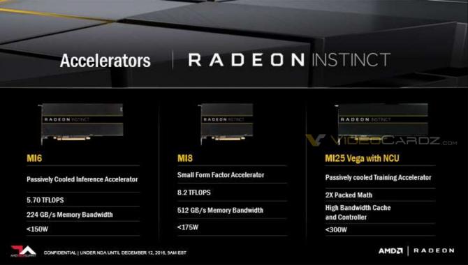 AMD Radeon Instict MI25 - układ wykorzystujący rdzeń Vega [1]