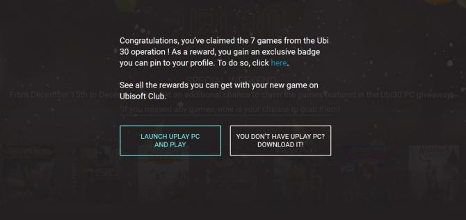 Ubisoft udostępnia wszystkie 7 gier w ramach akcji Ubi 30 [2]