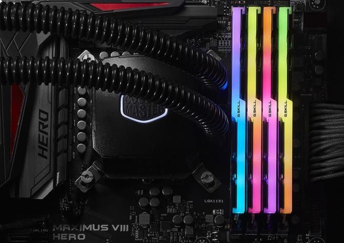G.Skill Trident Z RGB - nowe moduły RAM z oświetleniem LED [2]