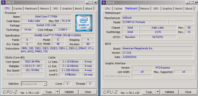Procesor Intel Core i7 7700K podkręcono do 7 GHz [1]