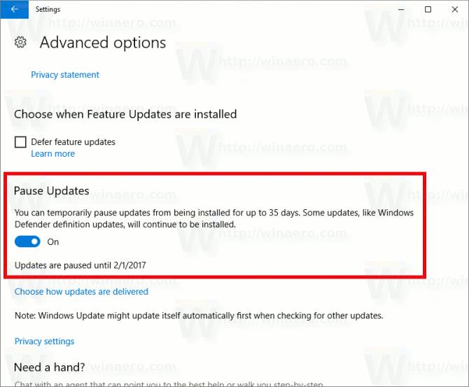 Windows 10 - w końcu wyłączymy automatyczne aktualizacje [1]