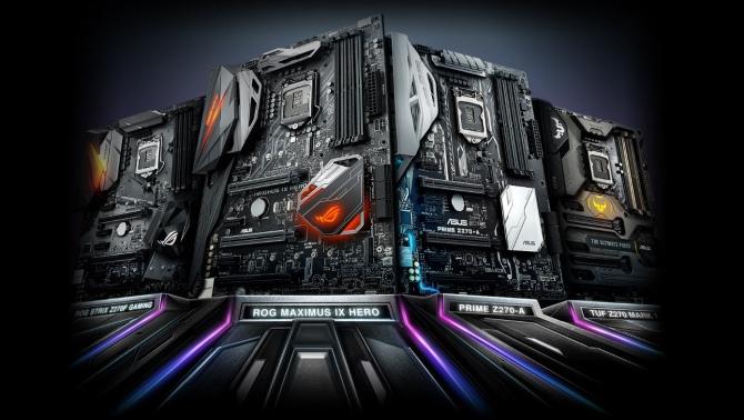 ASUS prezentuje nowe płyty główne dla procesorów Kaby Lake [1]