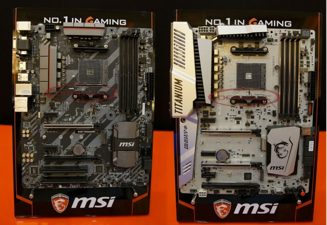MSI prezentuje płyty główne pod socket AM4 na CES 2017 [1]