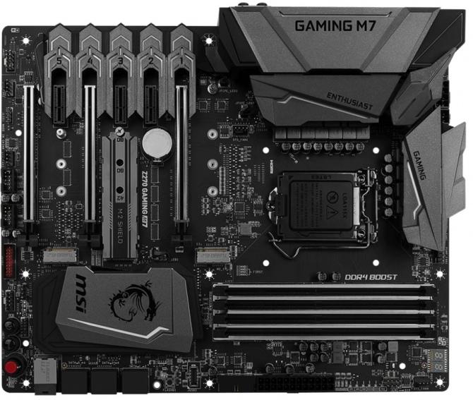 MSI - zestawienie płyt głównych dla procesorów Kaby Lake [3]