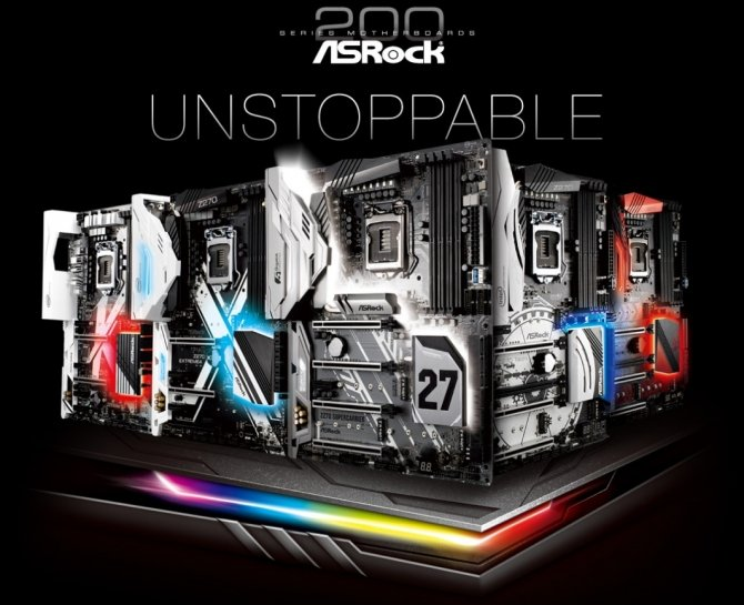ASRock - Lista płyt głównych dla procesorów Intel Kaby Lake [1]