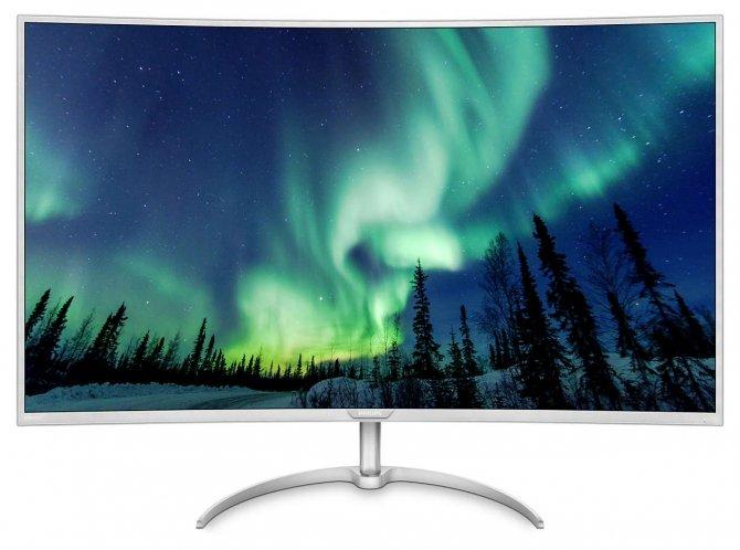 Philips BDM4037UW - zakrzywiony 40-calowy monitor 4K [1]