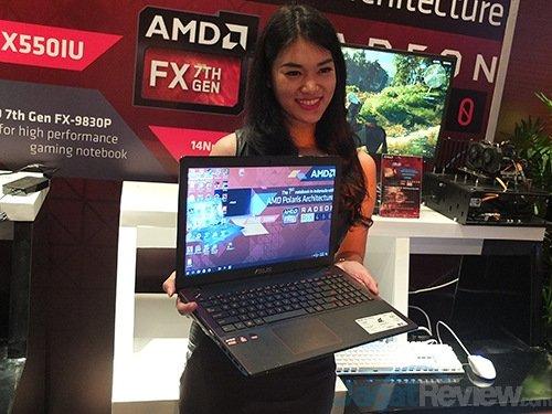 ASUS zapowiada laptopa X550IU z AMD APU oraz Radeonem RX 460 [4]