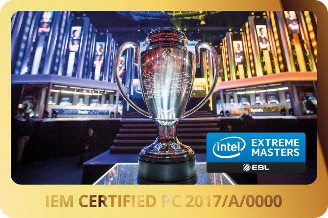 Certyfikowane komputery i laptopy Intel Extreme Masters 2017 [2]