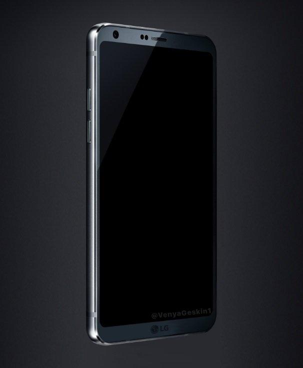 LG G6 na kolejnym renderze. Na pokładzie Snapdragon 821? [1]