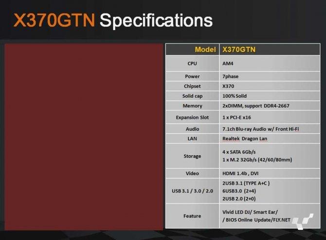 Biostar pokazuje Płyty główne AM4 z chipsetami X370 i B350 [5]
