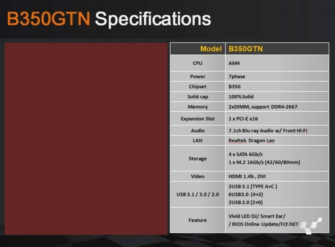 Biostar pokazuje Płyty główne AM4 z chipsetami X370 i B350 [8]