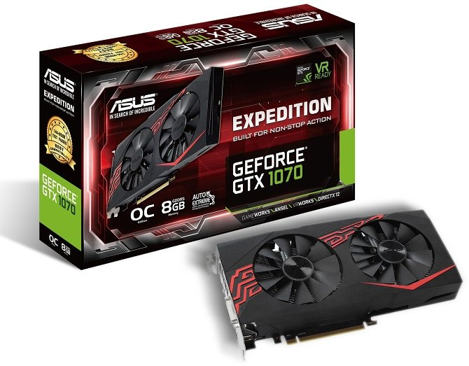 ASUS GeForce GTX 1070 Expedition - Kolejny niereferent  [1]