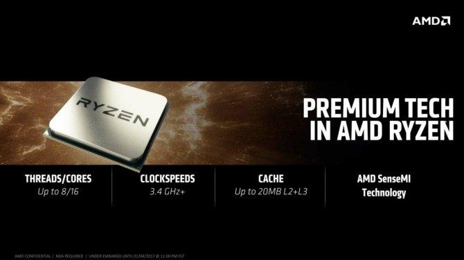 AMD ujawnia daty premiery procesorów Ryzen i układów Vega [3]