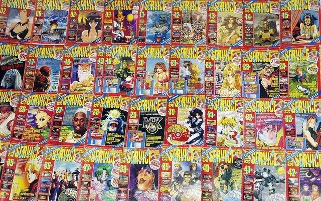 Secret Service - Zeskanowano archiwalne numery czasopisma [1]