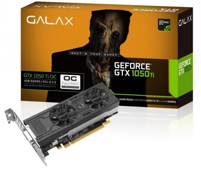 Galax GeForce GTX 1050 i GTX 1050 Ti w wersjach low profile [1]