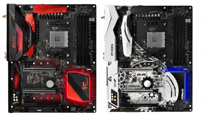 Płyty główne ASRock AM4 dla AMD Ryzen uchwycone na zdjęciach [3]