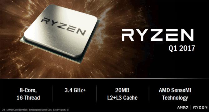 AMD Ryzen - oficjalne wsparcie tylko dla Windows 10 [2]