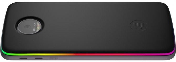 Edge - moduł dla Lenovo Moto Z wyposażony w diody RGB LED [2]