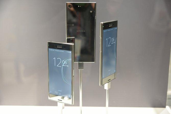 Sony prezentuje cztery nowe smartfony na targach MWC 2017 [1]