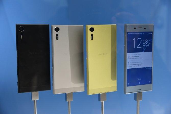 Sony prezentuje cztery nowe smartfony na targach MWC 2017 [3]