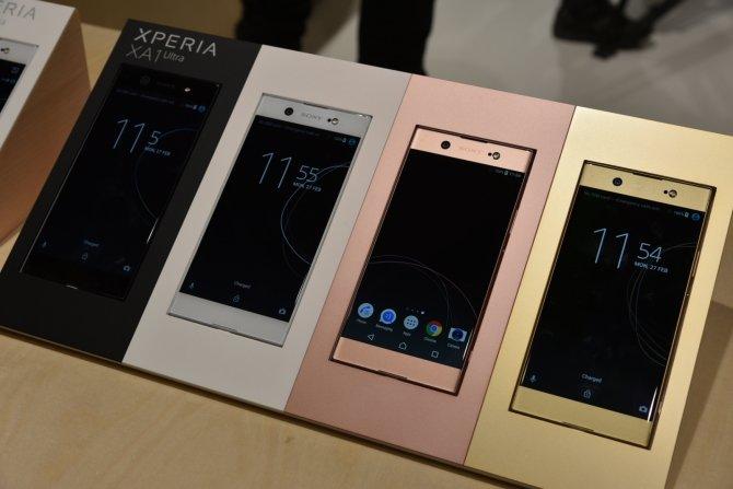Sony prezentuje cztery nowe smartfony na targach MWC 2017 [6]