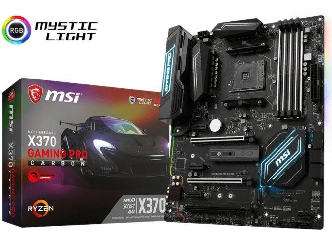 Specyfikacja płyt głównych MSI AM4 Gaming dla AMD Ryzen [2]