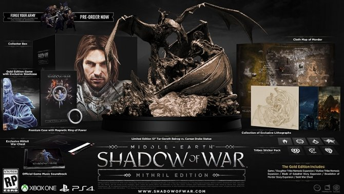 Śródziemie: Cień Wojny - Ujawniono wymagania sprzętowe gry [2]