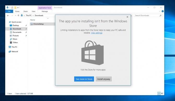 Windows 10 umożliwi blokowanie instalacji programów Win32 [1]