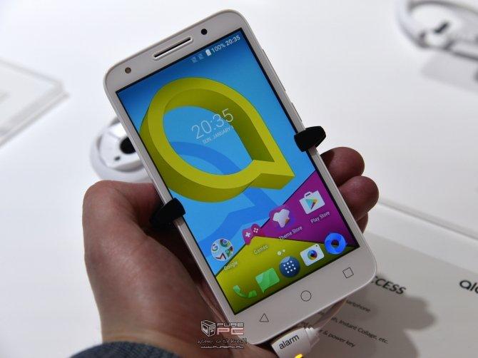 Alcatel zaprezentował na MWC kilka nowych modeli smartfonów  [4]